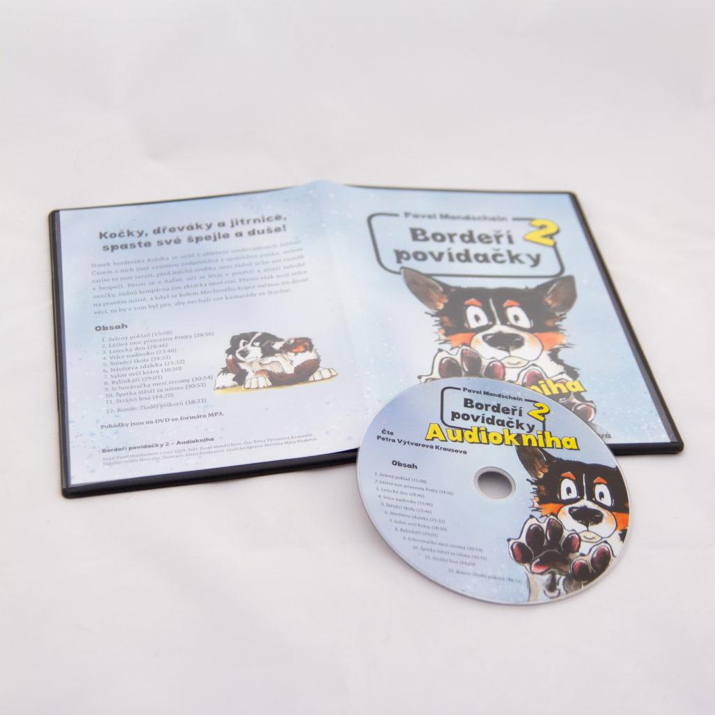 DVD audiokniha