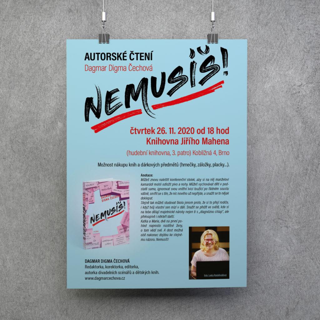 Plakáty naautorská čtení